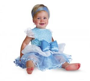 Disguise Costumes Disney Princess Cinderella Prestige Infant, Blue/White, 12-18 Months