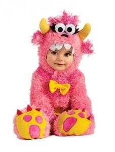 Rubie's Costume Noah's Ark Pinky Winky Monster Romper Costume, Pink, 6-12 Months