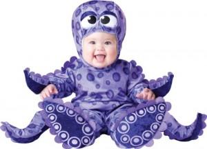 InCharacter Costumes, LLC Tiny Tentacles, Purple, Small