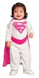 Infant Pink Supergirl Costume Infant (6-12 Months)