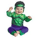 Marvel Boys Hulk Baby Halloween Costume