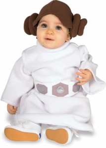 Baby Star Wars Princess Leia Costume Size Newborn to 6 Months