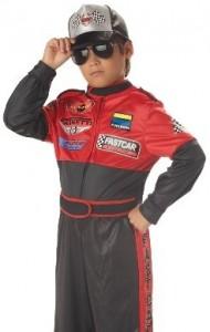 Racing Champion Race Car Driver Child Halloween Costume Size 8-10 Medium