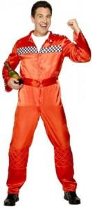 Men's Race Car Driver Halloween Costume