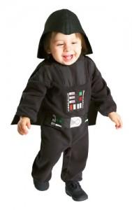 Rubie's Costume Star Wars Darth Vader Romper, Black, 12-24 Months