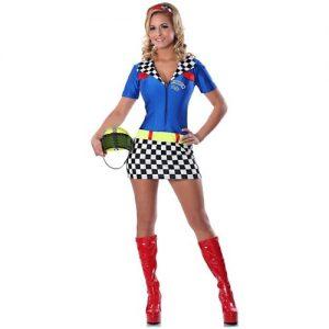 Racy Racer Costume - Small/Medium - Dress Size 2-6
