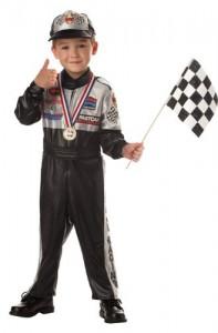 Child's Race Car Driver Costume Size 4-6