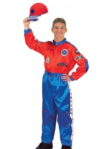 Race Car Costume Racecar Driver Authentic Suit Mens Theatrical Costume