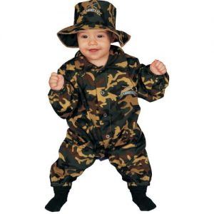 Dress Up America Baby Military Officer