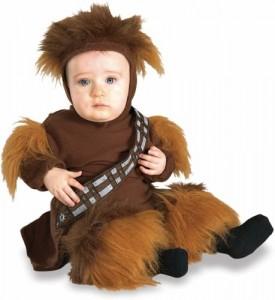 Newborn Baby Star Wars Chewbacca Costume (Sz:0-6M)