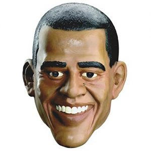 Adult's Barack Obama Costume Mask