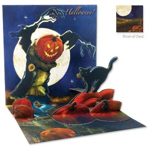 Halloween-Costume-Zone.com - 3D Greeting Card - PUMPKIN PATCH - Halloween