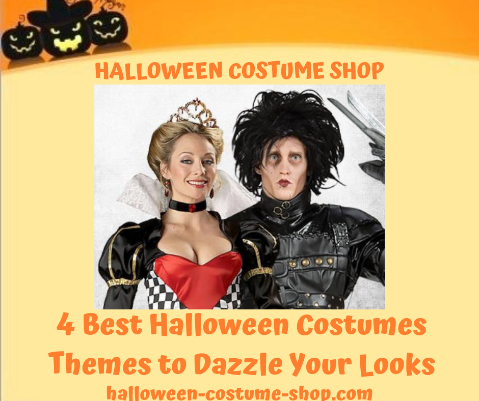 4 Best Halloween Costumes Themes to Dazzle Your Looks