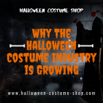 Why The Halloween Costume Industry is Growing
