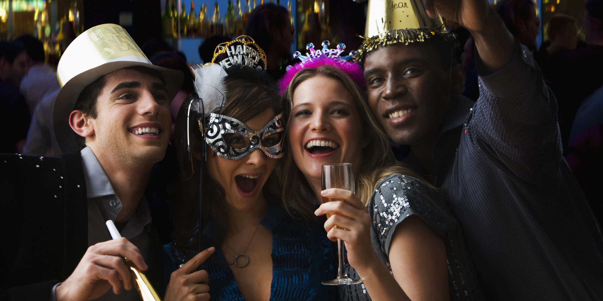 10 Costumes You Shouldn't Wear to a New Year's Eve Party