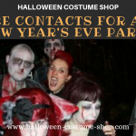 Vampire Contacts For a Scary New Year's Eve Party