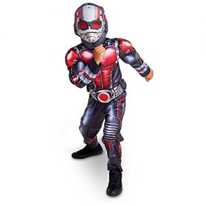 Disney Store Deluxe Ant Man Antman Light Up Costume Kids Size S Small 5 - 6