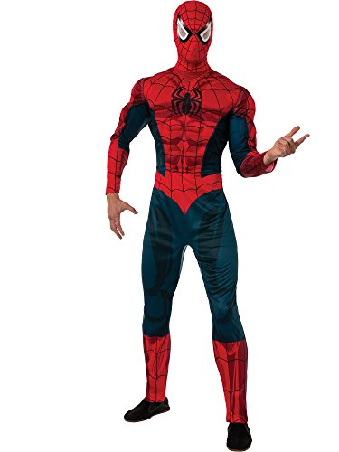Rubie's Men's Marvel Universe Adult Deluxe Spider-man Costume