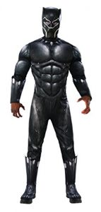 Rubie's Men's Marvel Black Panther Deluxe Costume