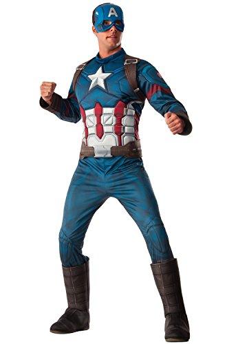 Rubie's Men's Marvel Captain America: Civil War Deluxe Costume