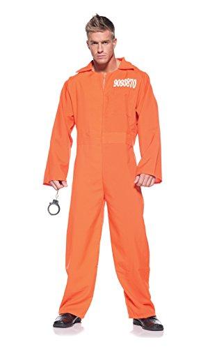 Men's Prisoner Costume – Prison Jumpsuit